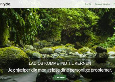 Hjemmeside lavet af Captcha: anniyde.dk