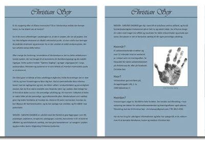 Brochure lavet af Captcha: Layout02