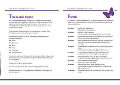 Brochure lavet af Captcha