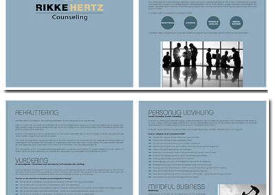 Brochure designet af Captcha