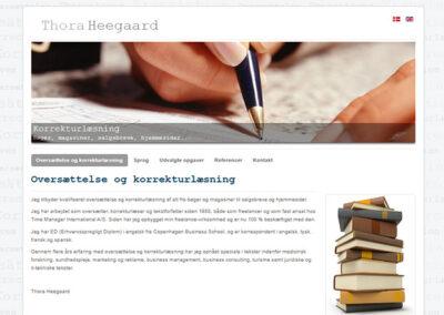Hjemmeside lavet af Captcha: thoraheegaard.dk