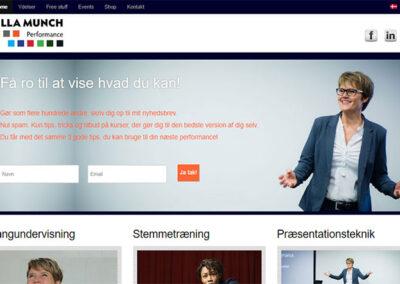 Hjemmeside lavet af Captcha: ullamunch.dk